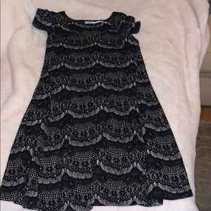 Urban outfitters size small black and white dress